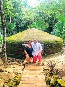 Eduardo, my shaman, and I