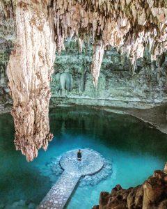 Cenote Suyton in Mexico