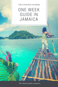 One week guide to Jamaica