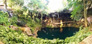 Cenote Zaci in Mexico