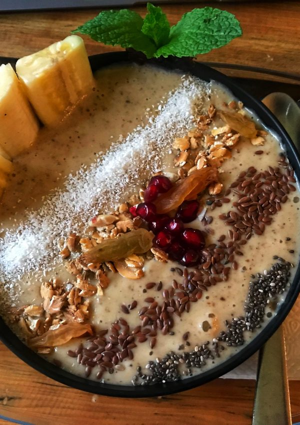 Smoothie Bowl in Nepal