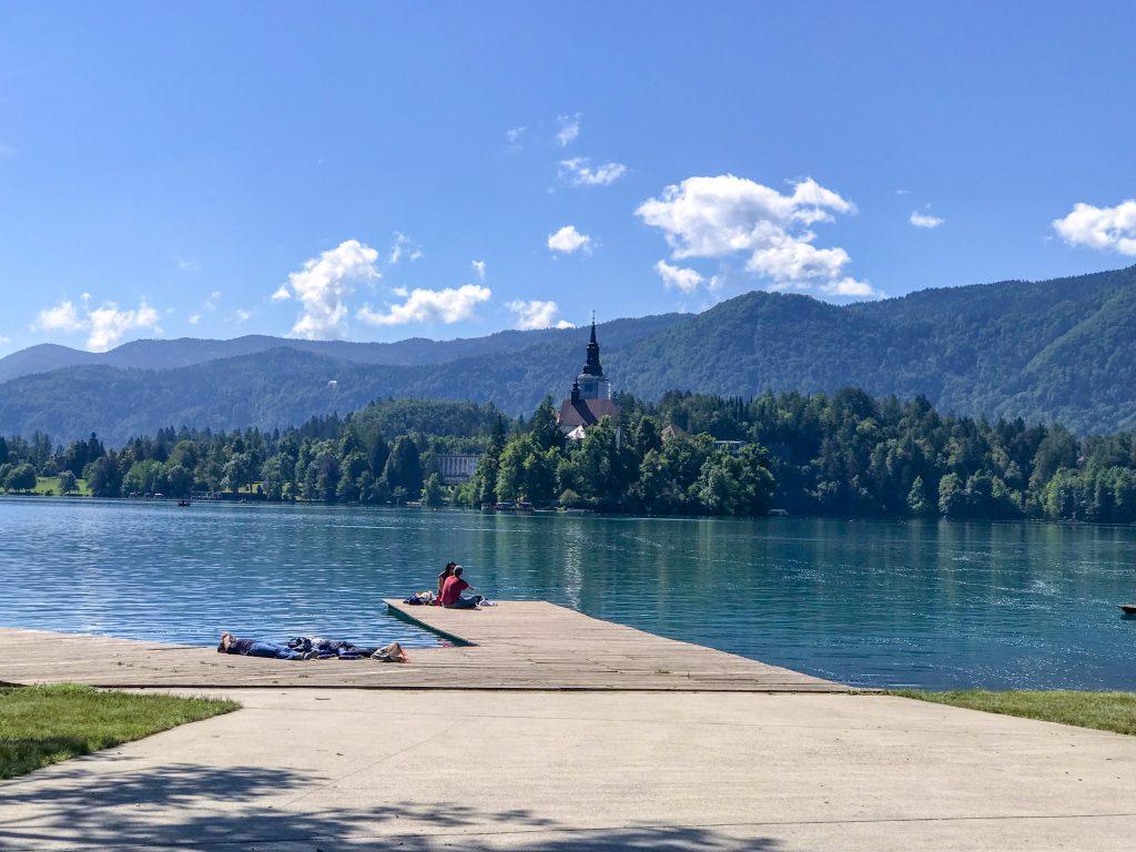 Lay at Lake Bled