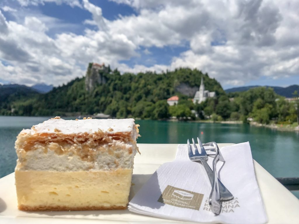 Famous Bled cream cake