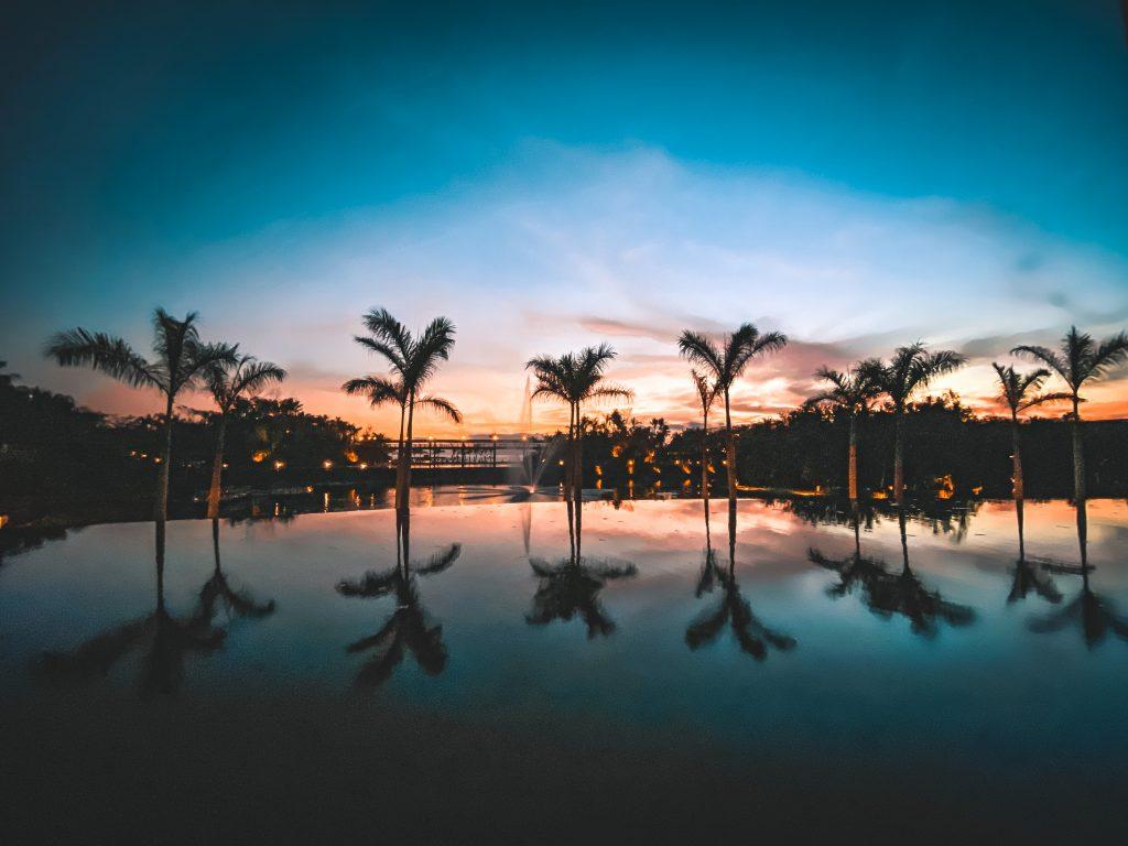 Mexico sunset in Puerto Vallarta