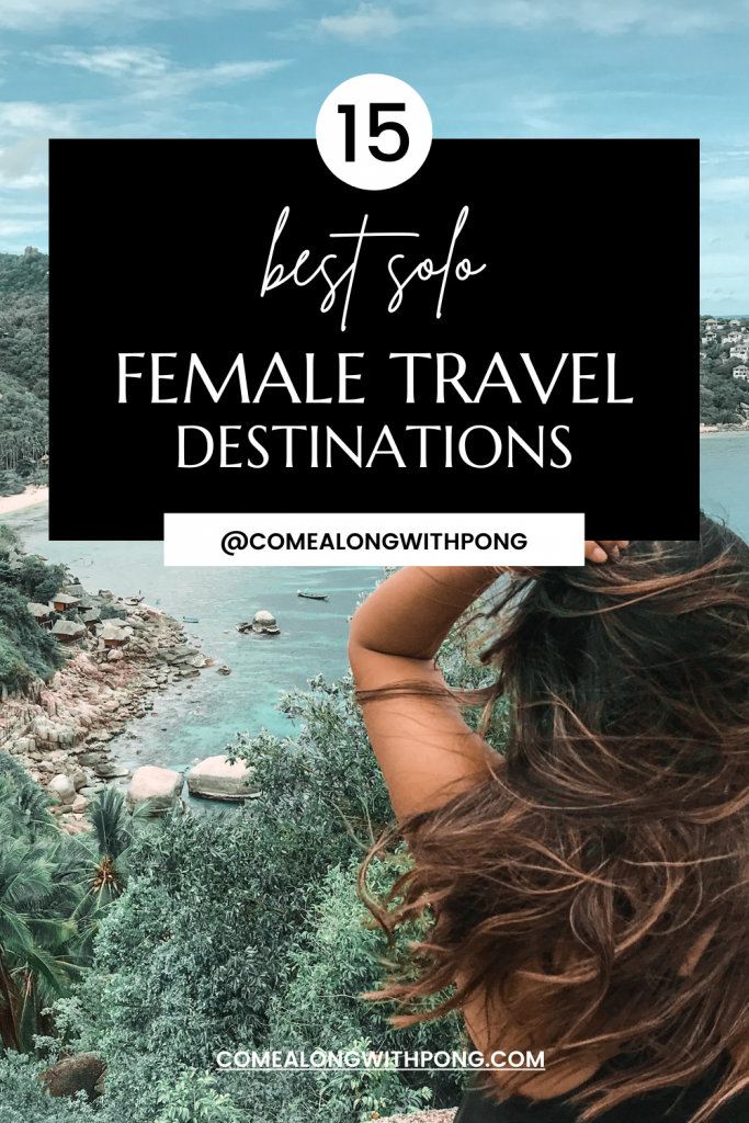 Travel blog pinterest pin