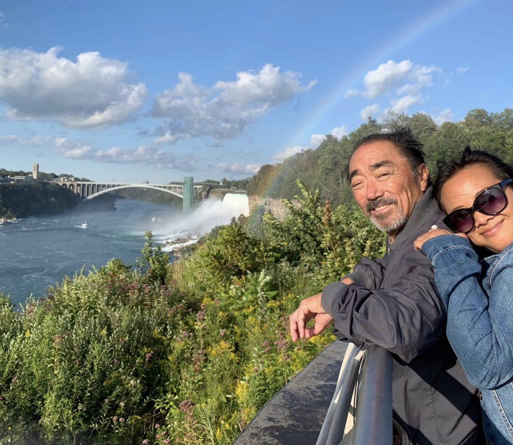 Me and dad in Niagara Falls