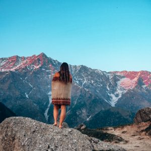 Me on a swing in Bali over the ocean.